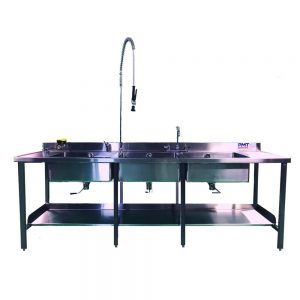 Non-Elevating Reprocessing Sink