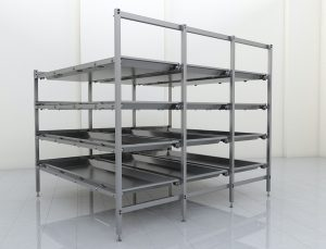 Body storage rack