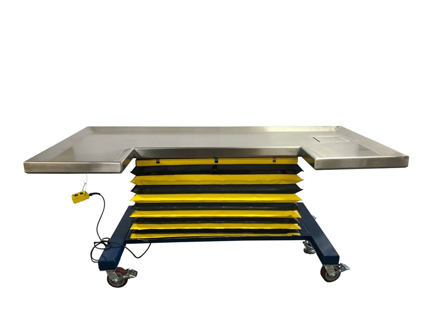 Large Animal Hydraulic Table mid height