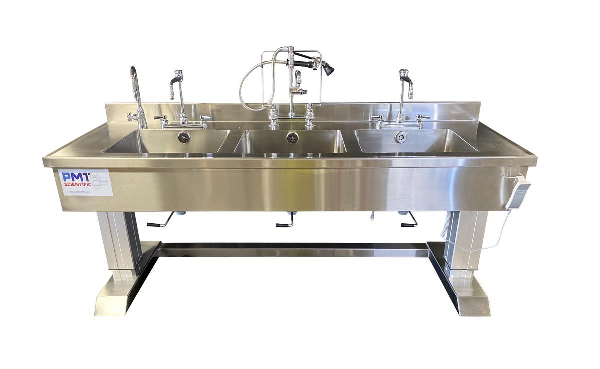 Reprocessing sink
